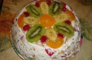 Торт без выпечки с желе - фото шаг 4