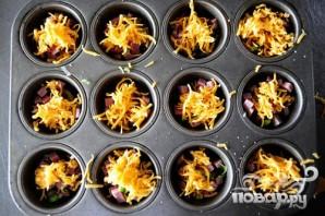 Картофель с сыром и зеленым луком - фото шаг 3