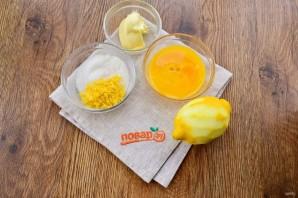 Лимонно-кокосовые квадратики - фото шаг 1