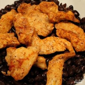 Куриное филе с фасолью - фото шаг 7