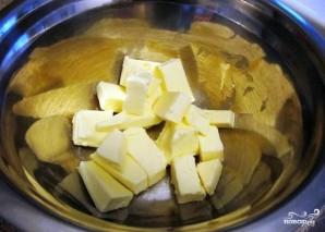 Творожное печенье с безе - фото шаг 1