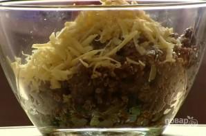 Кабачки, запеченные с фаршем в духовке - фото шаг 5