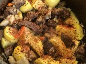 Казан кебаб с картошкой - фото шаг 8