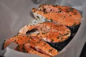 Cтейк из рыбы в духовке - фото шаг 4