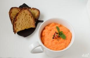 Морковный суп-пюре с имбирем - фото шаг 9