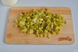 Пасхальный салат из курицы - фото шаг 4