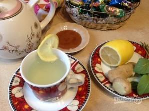 Полезный имбирный чай - фото шаг 7