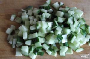 Салат из черешкового сельдерея - фото шаг 3