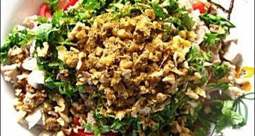 Салат с фасолью и мясом - фото шаг 5