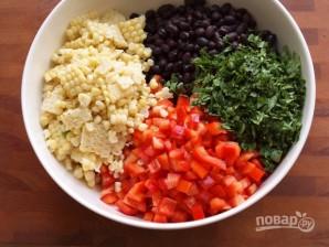 Салат из фасоли красной - фото шаг 3