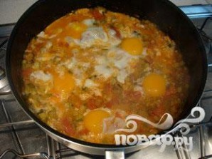 Рататуй с яйцом - фото шаг 8
