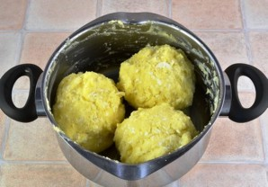 Осетинский пирог с картошкой и сыром - фото шаг 3