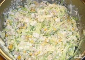 Салат по-гавайски - фото шаг 5