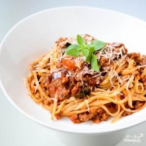 Спагетти Болоньезе - фото шаг 10