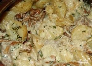 Картофель в сливках в духовке - фото шаг 11