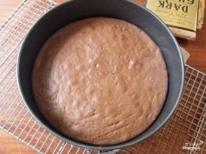 Шоколадный торт с черносливом и орехами - фото шаг 3