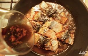 Скумбрия жареная на сковороде - фото шаг 4