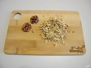 Салат с грибами жареными - фото шаг 5