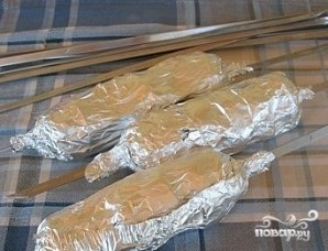 Картофель на шампурах - фото шаг 5