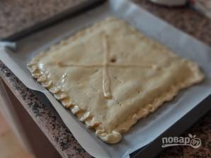 Слоеный пирог с тунцом - фото шаг 11