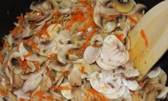 Постная гречка с грибами - фото шаг 4