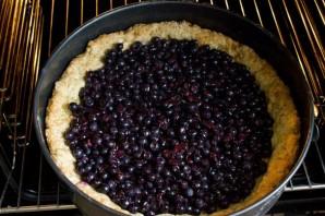 Черничный пирог-желе - фото шаг 4