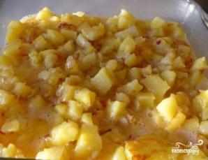 Картофельный омлет - фото шаг 8