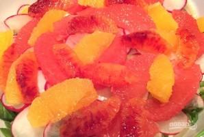 Салат с фенхелем, рукколой и апельсином - фото шаг 7