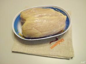 Куриная грудка на пару в мультиварке - фото шаг 3