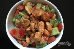 Салат из курицы и авокадо - фото шаг 8