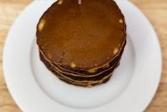 Чоко-панкейки на завтрак - фото шаг 6