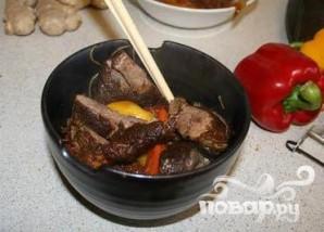 Утка по-китайски с лапшой и овощами - фото шаг 7