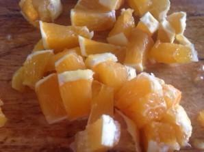 Салат из бананов и апельсинов - фото шаг 5