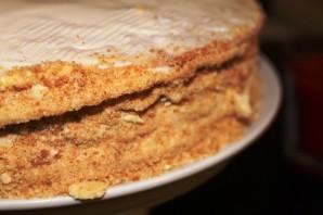 Медовый торт в заварном тесте - фото шаг 10