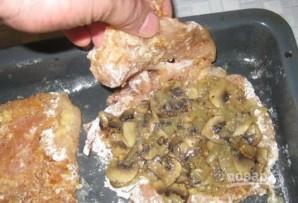 Мясо с грибами и сыром - фото шаг 11