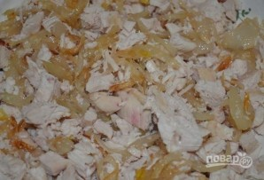 Куриный слоеный салат - фото шаг 4