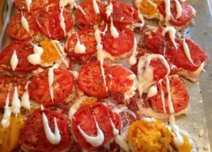 Эскалопы из свинины с овощами и сыром - фото шаг 6