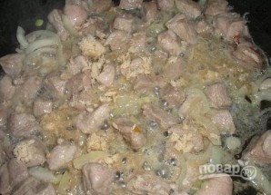 Свинина, тушенная с хреном - фото шаг 3
