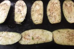 Рулеты из баклажанов в духовке - фото шаг 7