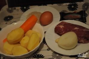 Классический суп с фрикадельками - фото шаг 1