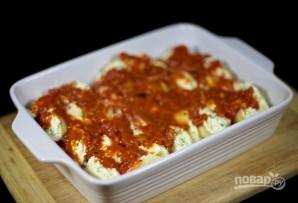 Макароны, запеченные с сыром в духовке - фото шаг 14