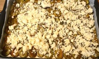 Простой пирог со сливами - фото шаг 8