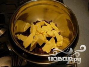 Шоколадный кекс с малиновым соусом - фото шаг 2
