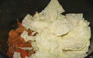 Тушеное мясо с овощами в мультиварке - фото шаг 3
