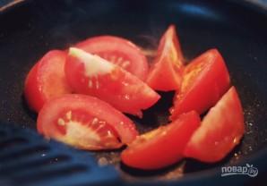 Спагетти с томатным соусом и овощами - фото шаг 2