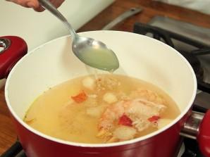 Тайский суп с креветками - фото шаг 3