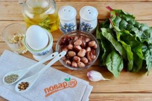 "Салат ""Витамины и белок"" - фото шаг 1"