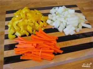 Лапша с овощами по-китайски - фото шаг 1