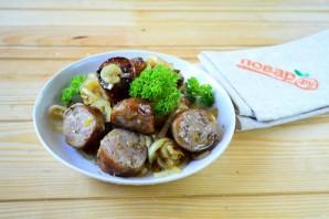 Колбаски по-итальянски с перцем и луком - фото шаг 6