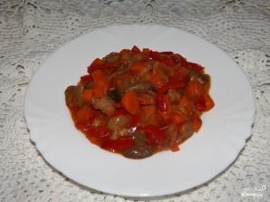 Солянка грибная на зиму с томатной пастой - фото шаг 7